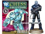 DC Chess Figurine Collection #15 Mr Freeze Black Pawn Eaglemoss